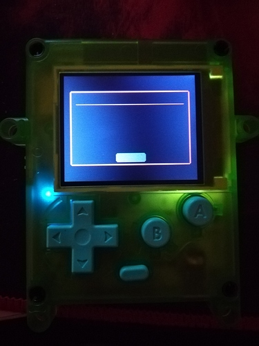 Loader screen with MicroSDcard
