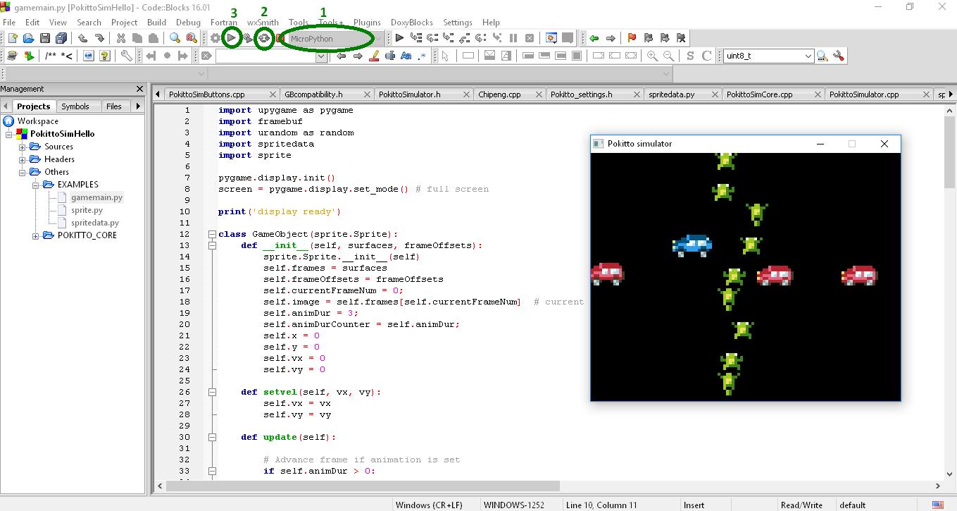 Wiki]Introduction to MicroPython under Pokitto Simulator - Wiki