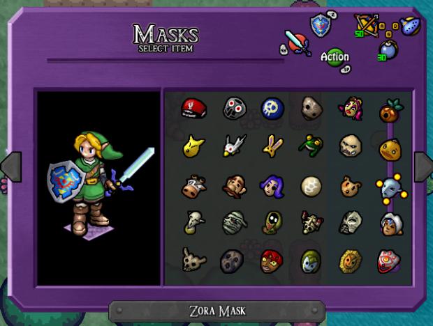 Majora's Mask Demake