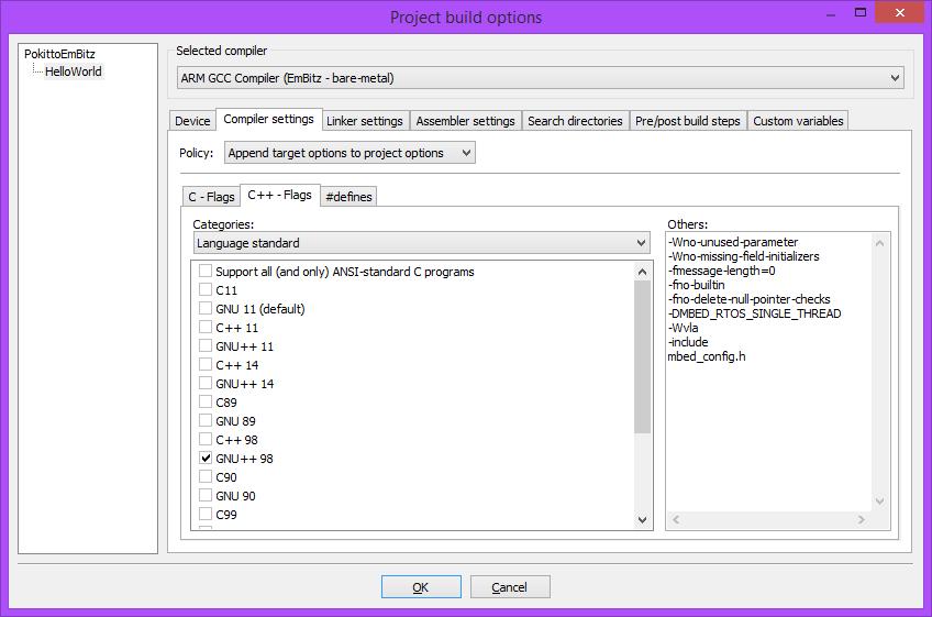 ARM GCC compiler std::vector - Pokitto Software - talk